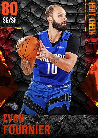 Evan Fournier fire card