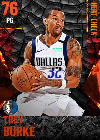 Trey Burke fire card