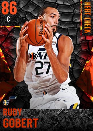 Rudy Gobert fire card