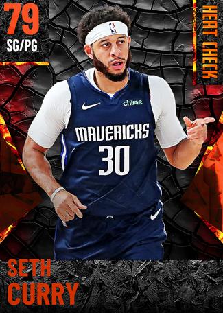 Seth Curry fire card