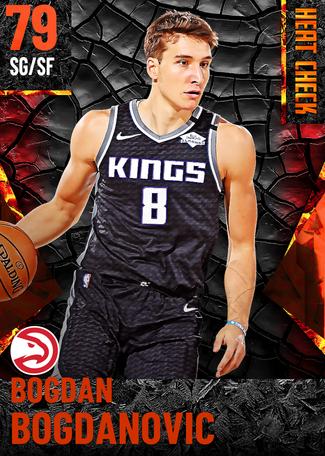Bogdan Bogdanovic fire card