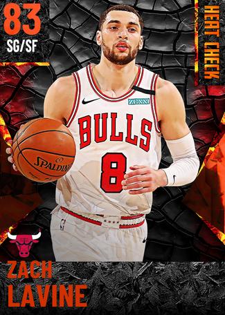 Zach LaVine fire card