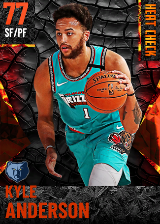 Kyle Anderson fire card