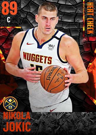 Nikola Jokic fire card