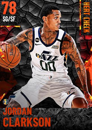 Jordan Clarkson fire card