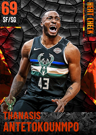 Thanasis Antetokounmpo fire card