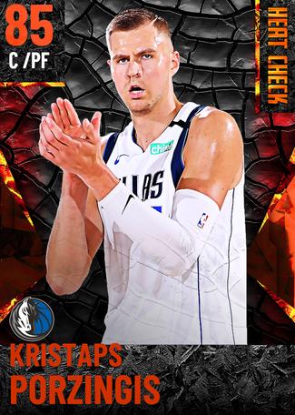 Kristaps Porzingis fire card