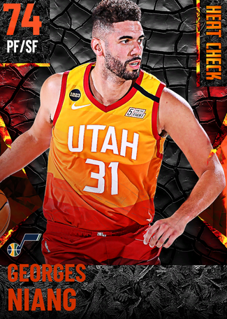 Georges Niang fire card