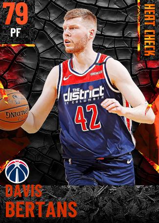 Davis Bertans fire card