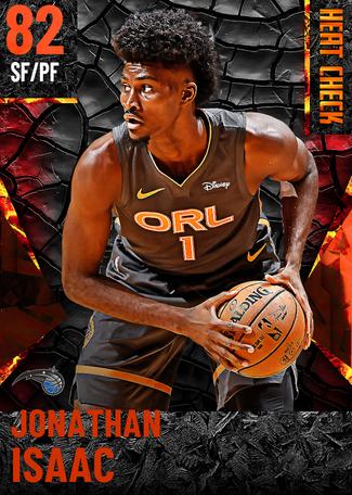 Jonathan Isaac fire card