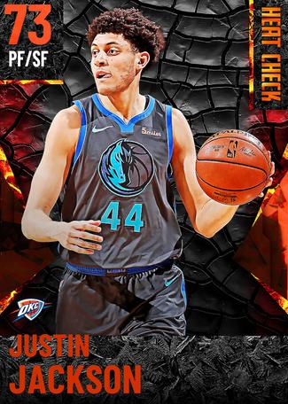 Justin Jackson fire card