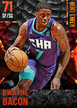 Dwayne Bacon fire card