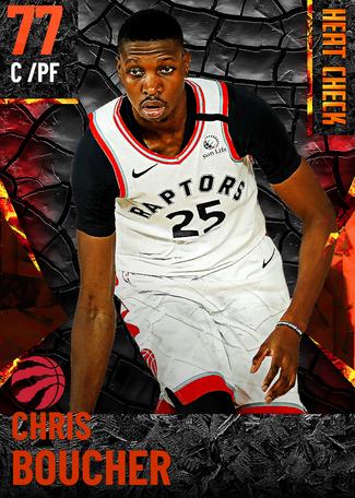 Chris Boucher fire card