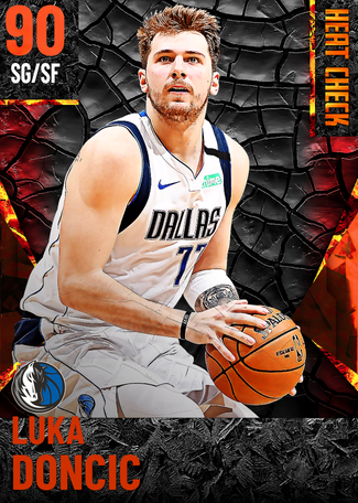 Luka Doncic fire card