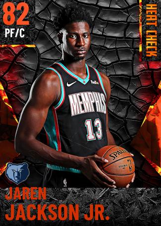 Jaren Jackson Jr. fire card