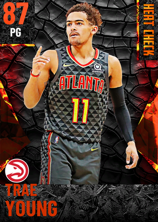Trae Young fire card