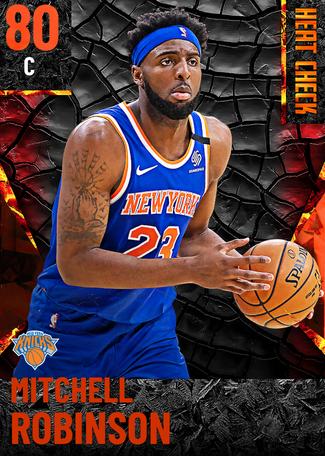 Mitchell Robinson fire card