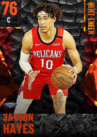 Jaxson Hayes fire card