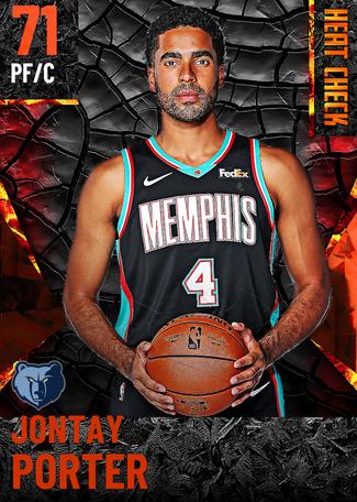 Jontay Porter fire card