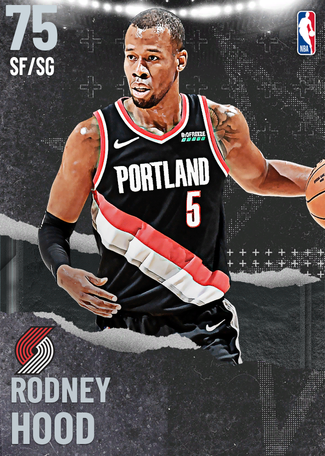 Rodney Hood silver card