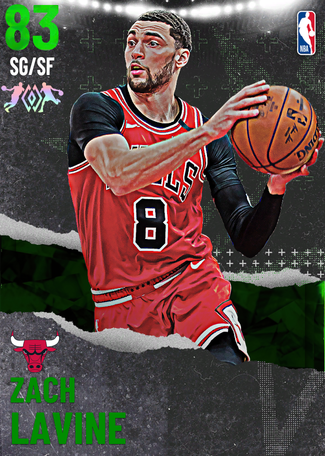 Zach LaVine emerald card