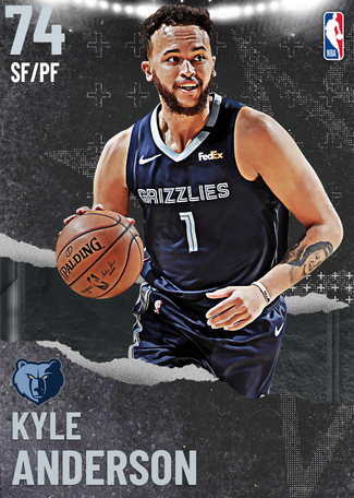 Kyle Anderson silver card