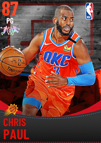 Chris Paul ruby card