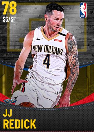 JJ Redick gold card