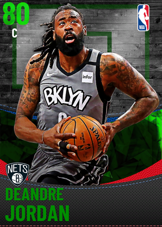 DeAndre Jordan emerald card