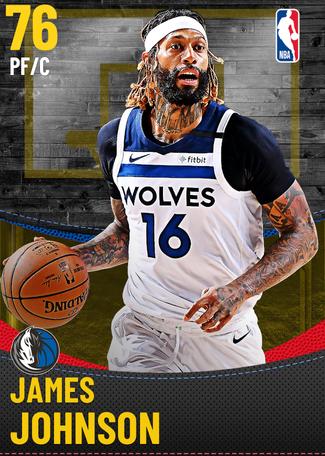 James Johnson gold card