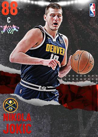Nikola Jokic ruby card