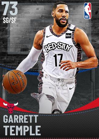 Garrett Temple silver card