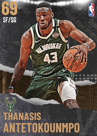 Thanasis Antetokounmpo bronze card
