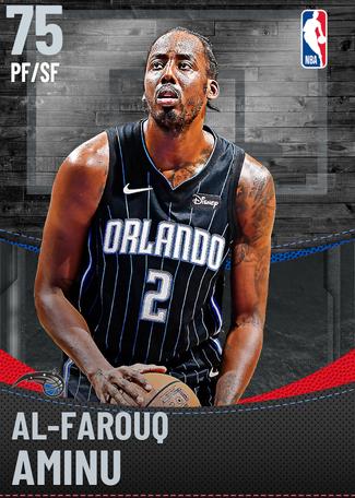 Al-Farouq Aminu silver card