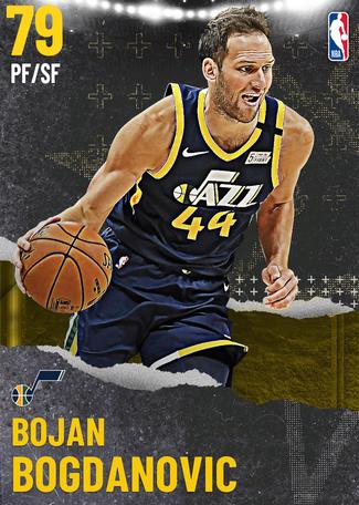 Bojan Bogdanovic gold card