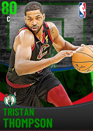 Tristan Thompson emerald card