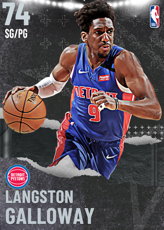 Langston Galloway silver card