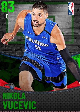 Nikola Vucevic emerald card