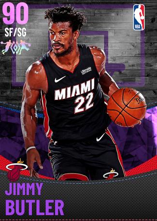 Jimmy Butler amethyst card