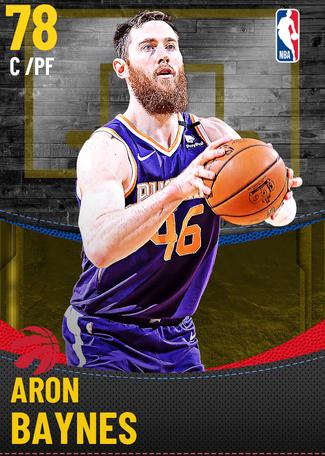 Aron Baynes gold card