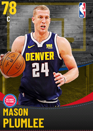 Mason Plumlee gold card