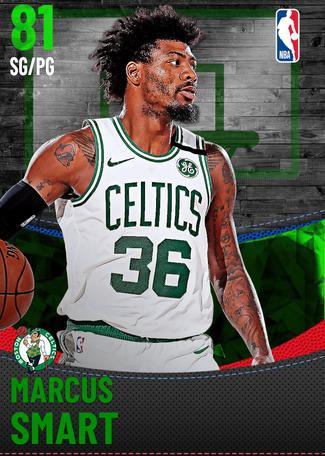 Marcus Smart emerald card