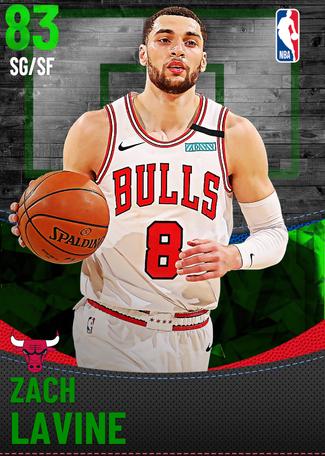 Zach LaVine emerald card