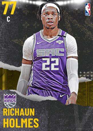 Richaun Holmes gold card