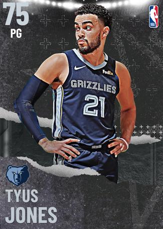 Tyus Jones silver card
