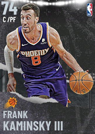 Frank Kaminsky III silver card