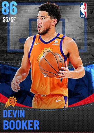 Devin Booker sapphire card