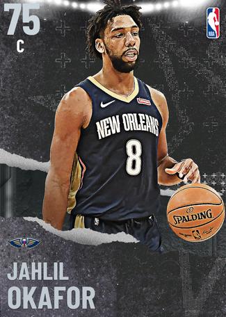 Jahlil Okafor silver card
