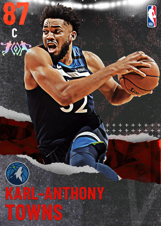 Karl-Anthony Towns ruby card