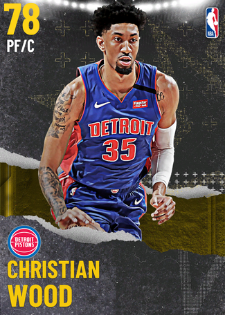 Christian Wood gold card